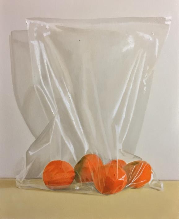 Mandarinas |Pintura de Nacho Rodríguez Izquierdo | Compra arte en Flecha.es