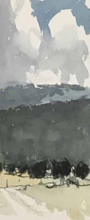 Tormenta |Pintura de Iñigo Lizarraga | Compra arte en Flecha.es