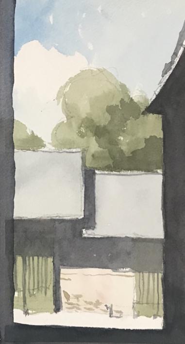 La Granja |Pintura de Iñigo Lizarraga | Compra arte en Flecha.es