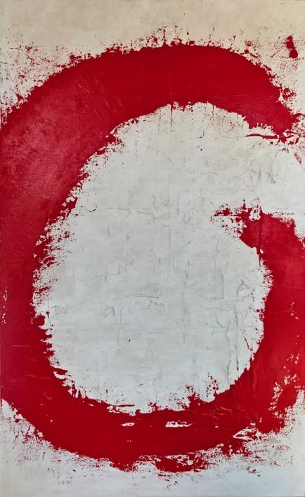 FUEGO SAGARADO |Pintura de ALFREDO MOLERO DOVAL | Compra arte en Flecha.es
