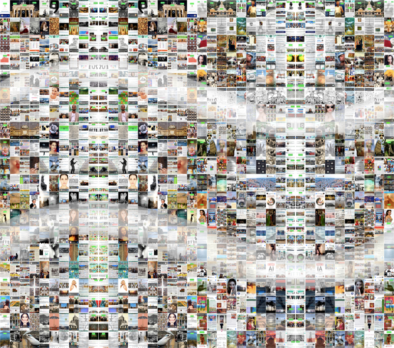 Ai = |Collage de AiVictor | Compra arte en Flecha.es