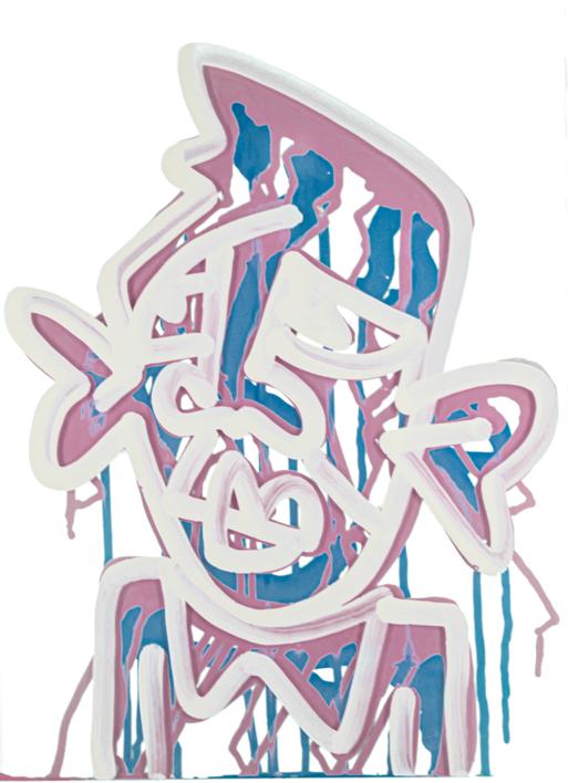 Marquise (Pink & Blue) - same but different series |Obra gráfica de Jakob Fisk | Compra arte en Flecha.es