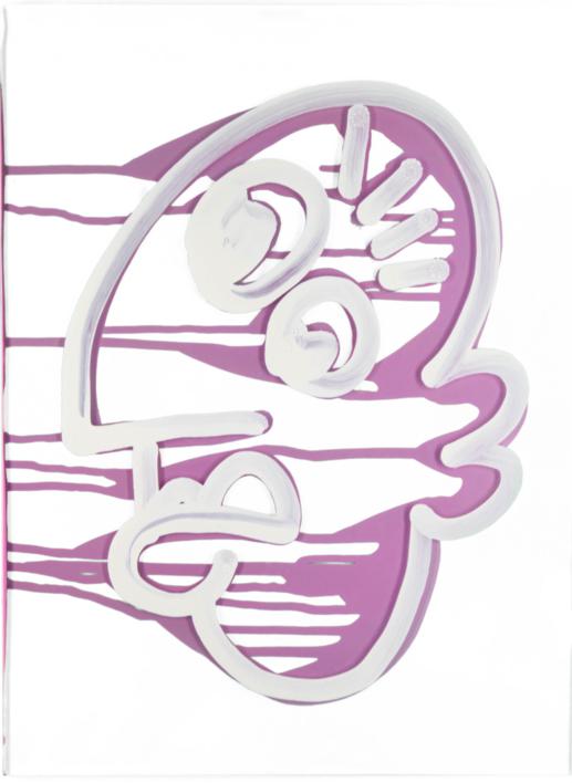 Pink Picasso Fisk |Pintura de Jakob Fisk | Compra arte en Flecha.es