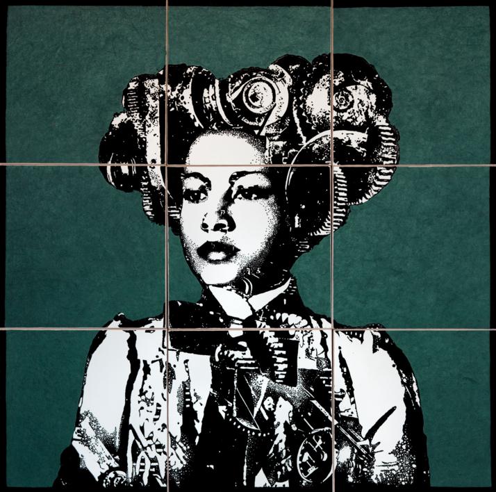 Construcción 1 |Collage de Alicia Calbet | Compra arte en Flecha.es