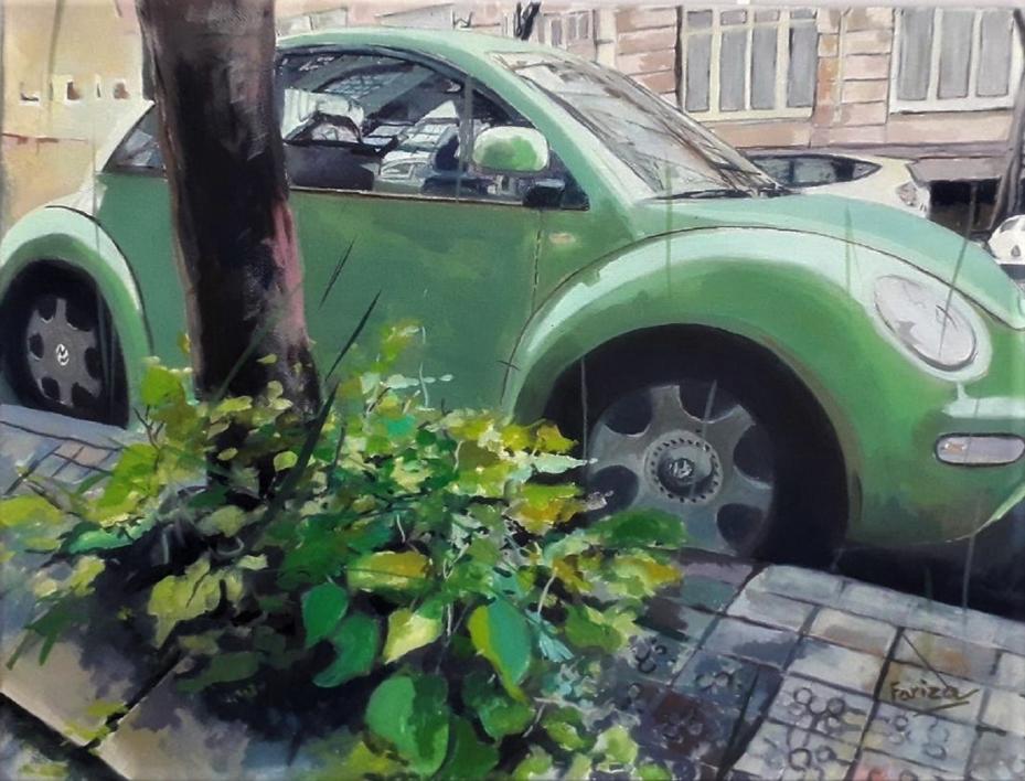 En  Bilbao  Pintura de Amaya Fernández Fariza   Compra arte en Flecha.es