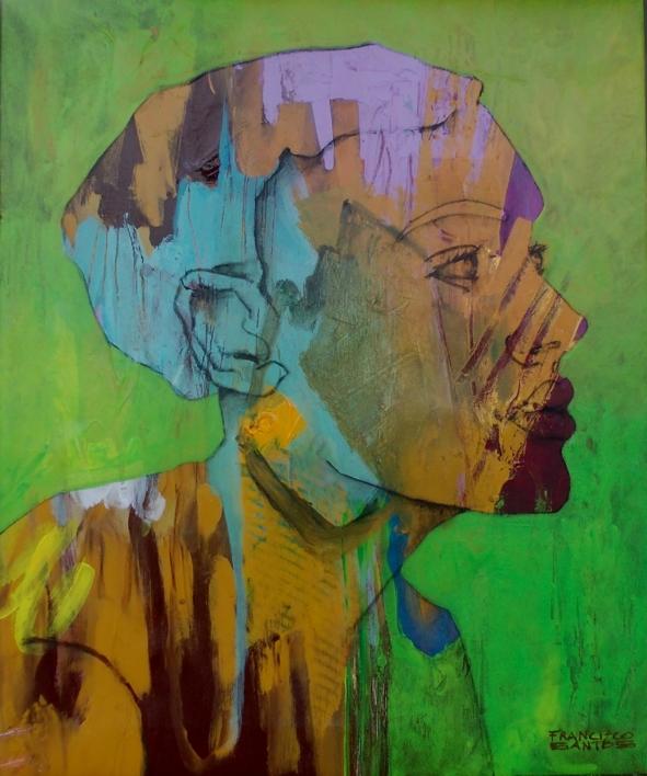 Pretty woman |Pintura de Francisco Santos | Compra arte en Flecha.es
