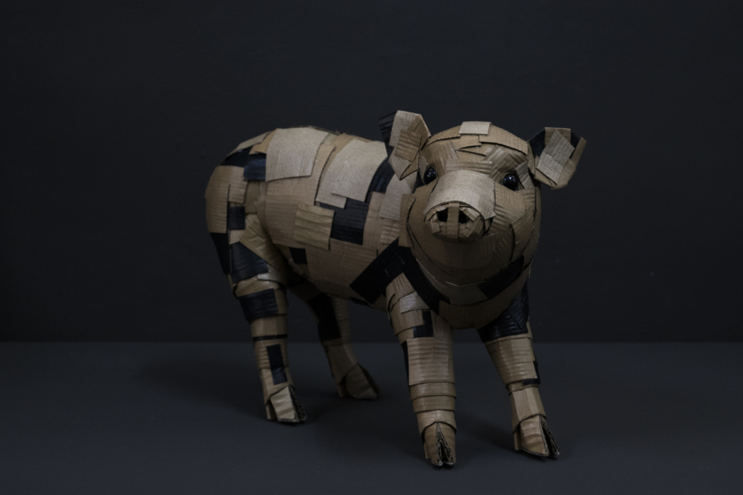 LECHÓN Nº1 |Escultura de COVA ORGAZ | Compra arte en Flecha.es