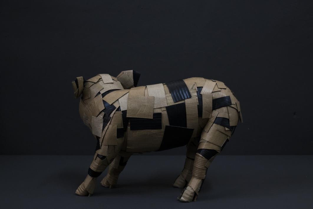 LECHÓN Nº1 | Escultura de COVA ORGAZ | Compra arte en Flecha.es