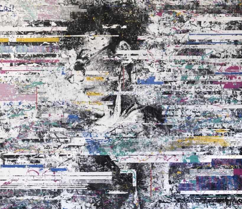BAHIANA - INTERFERENCIAS |Pintura de Ana Dévora | Compra arte en Flecha.es