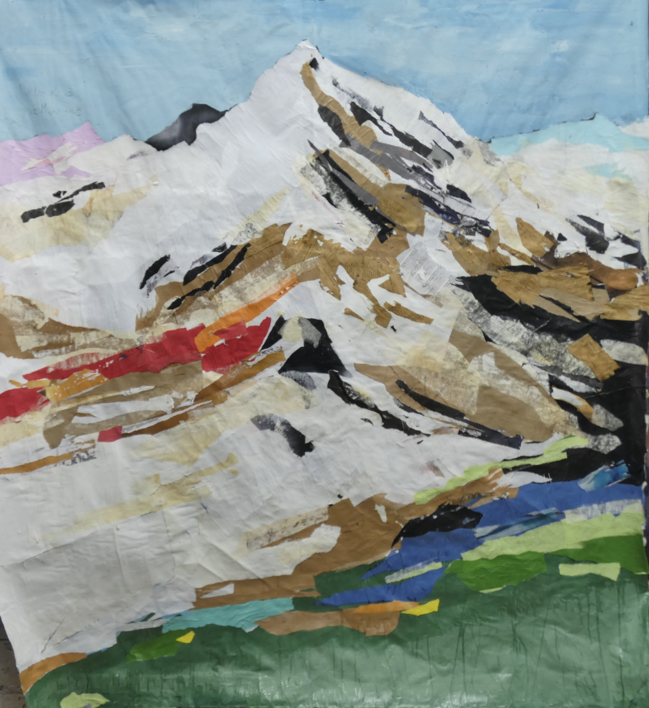 swiss nº 3 |Collage de saiz manrique | Compra arte en Flecha.es