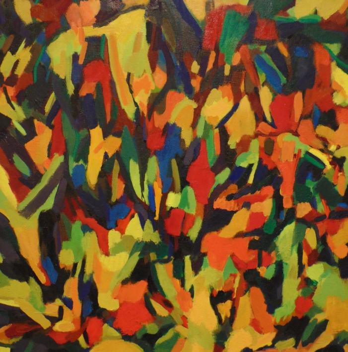 La Caja China I  Pintura de Isabel Martin   Compra arte en Flecha.es