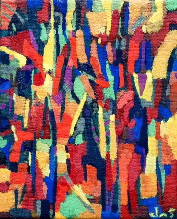 Abst-Complementos |Pintura de Isabel Martin | Compra arte en Flecha.es