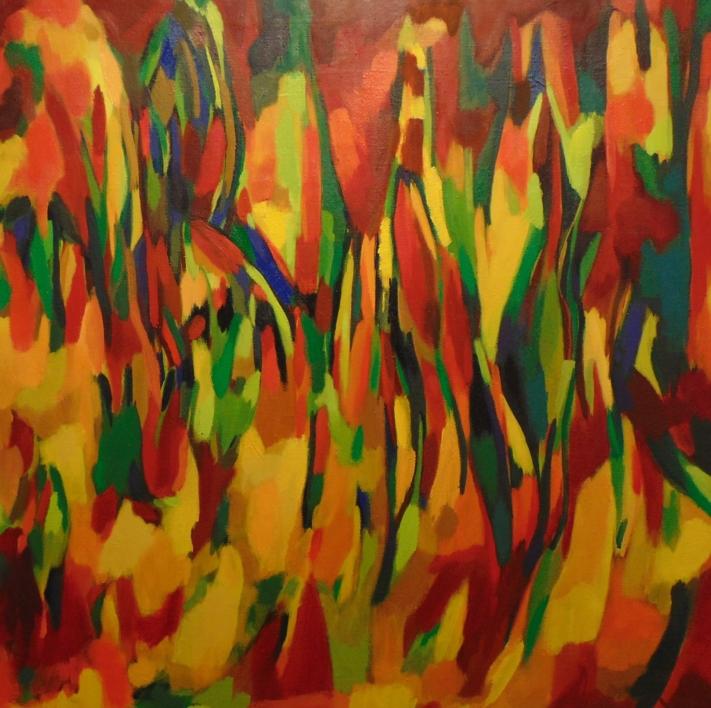 Serie TRANCE |Pintura de Isabel Martin | Compra arte en Flecha.es