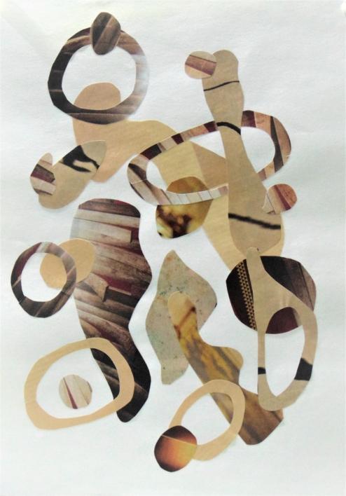 Mapografia caramenlo #2 |Collage de Fabiana Zapata | Compra arte en Flecha.es