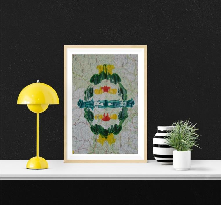 Impronta #7 (Deforestación) |Pintura de Fabiana Zapata | Compra arte en Flecha.es