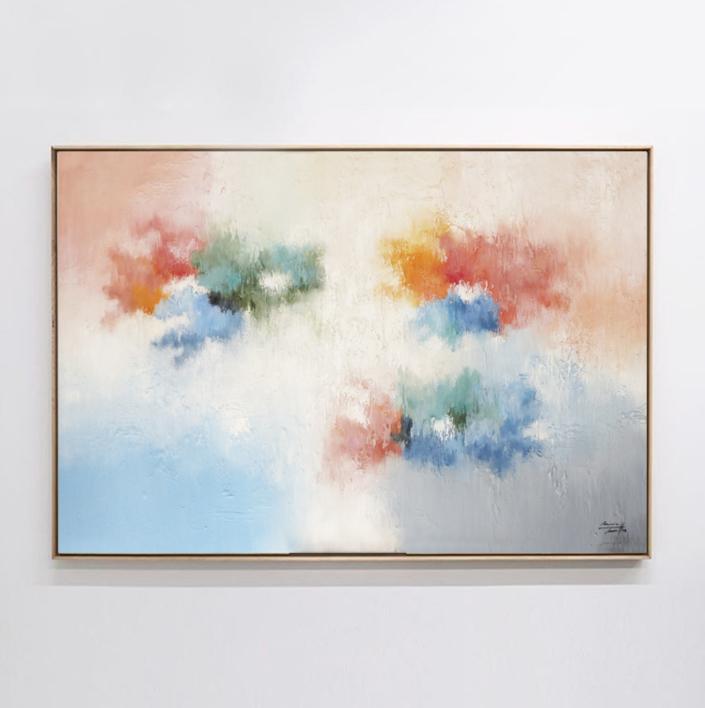 Lo importante pasa hoy |Pintura de Maria Miralles | Compra arte en Flecha.es