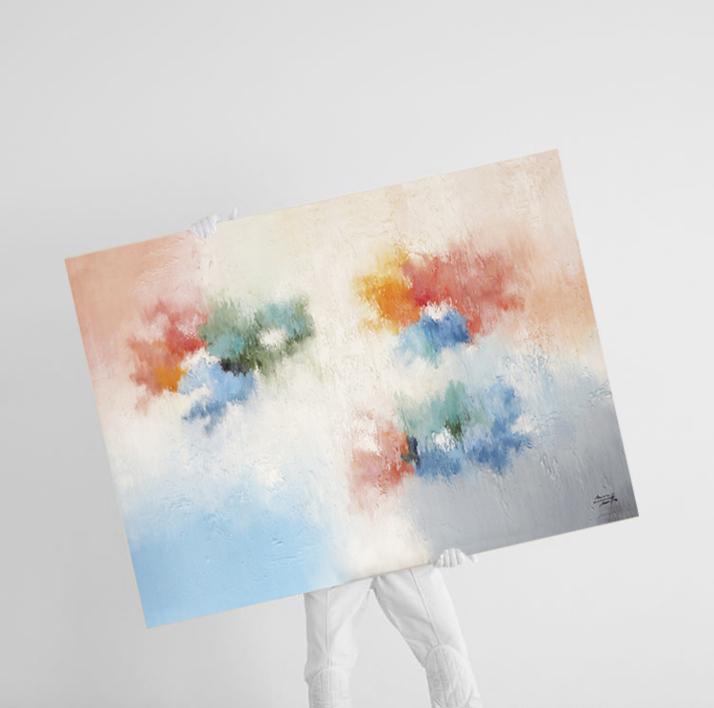 Lo importante pasa hoy | Pintura de Maria Miralles | Compra arte en Flecha.es