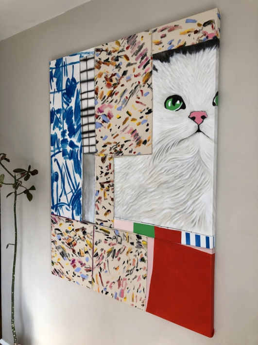 415 Unsupported Media Type | Pintura de Nadia Jaber | Compra arte en Flecha.es