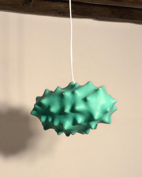 Noro verde |Escultura de Carmma | Compra arte en Flecha.es