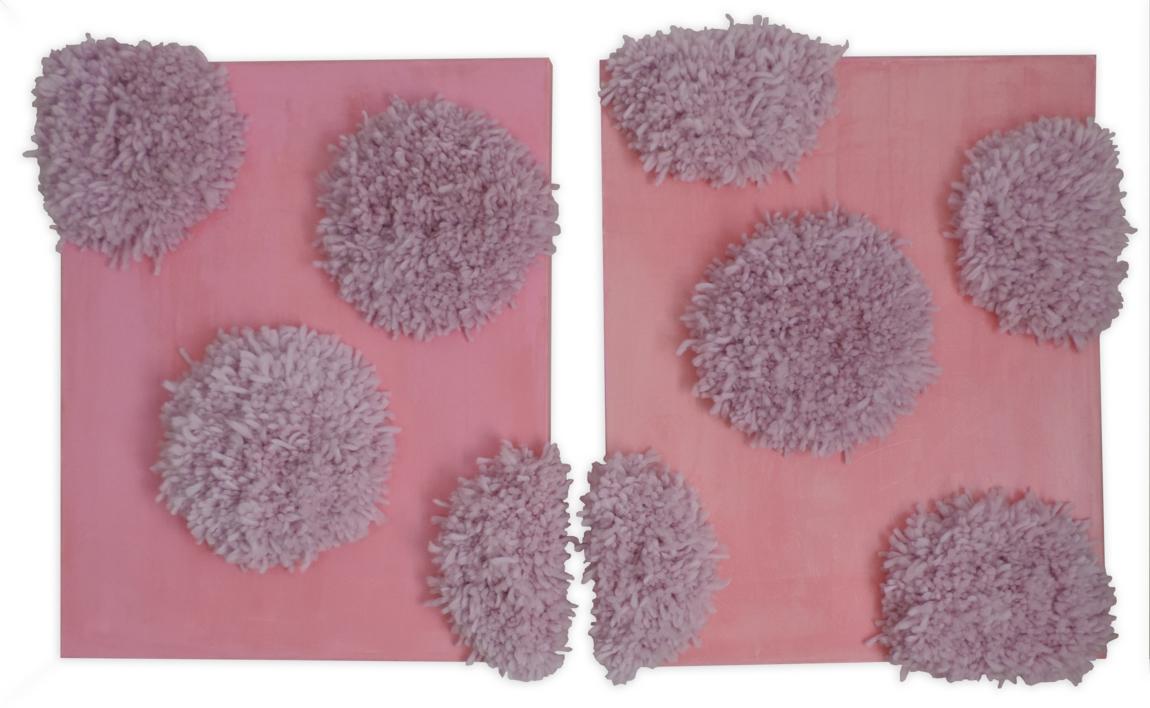 Pink Peonies |Pintura de Nadia Jaber | Compra arte en Flecha.es