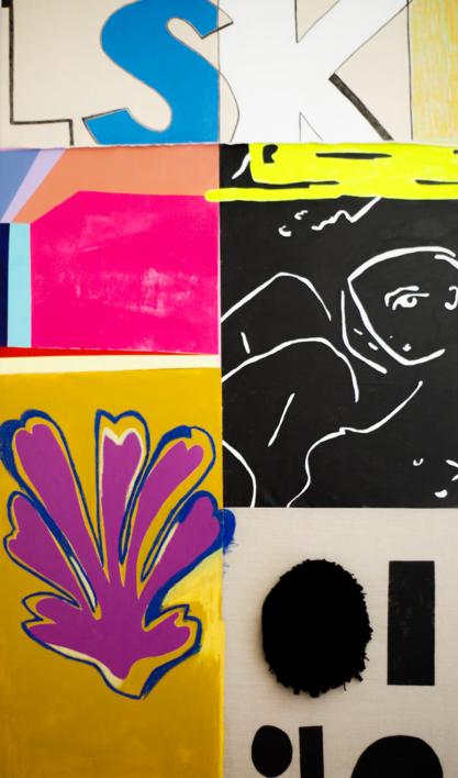 208 This is Fine |Pintura de Nadia Jaber | Compra arte en Flecha.es