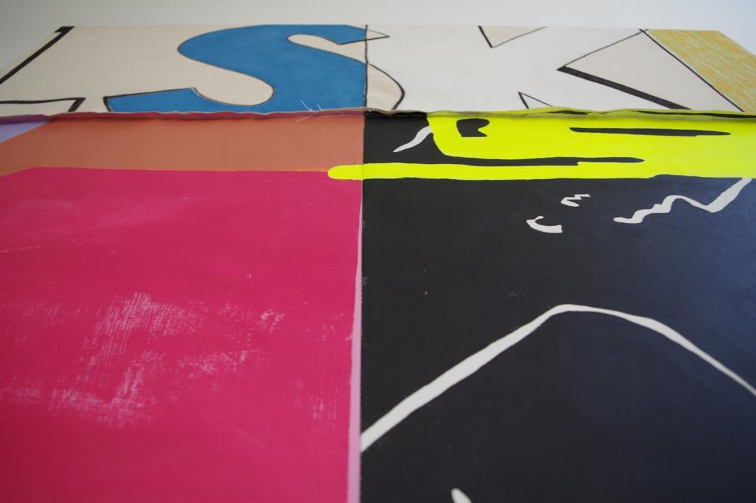 208 This is Fine | Pintura de Nadia Jaber | Compra arte en Flecha.es