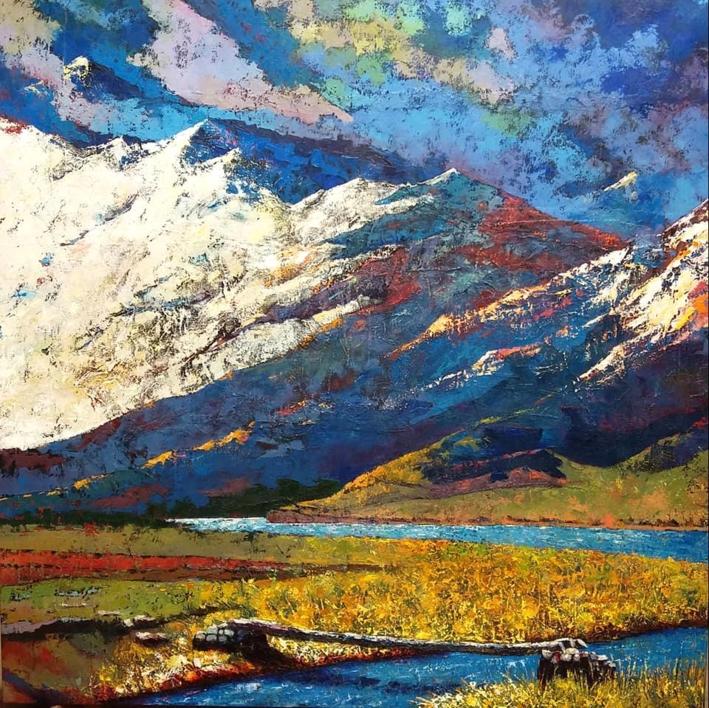 Evocación II |Pintura de Gossediletto | Compra arte en Flecha.es