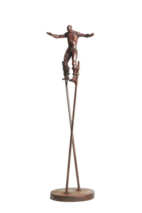 """ZANCUDO X"". |Escultura de Fernando Suárez | Compra arte en Flecha.es"