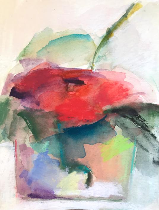 Lugares y jardines Imaginarios XVII |Pintura de Teresa Muñoz | Compra arte en Flecha.es