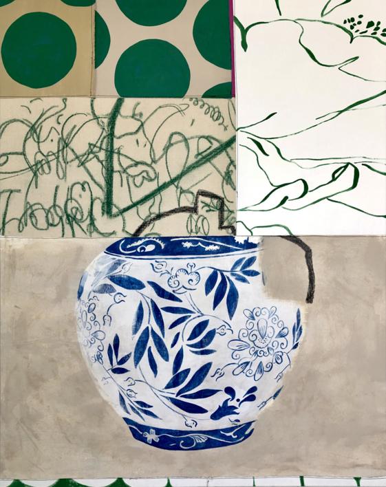 Floral Arrangement n.3 |Pintura de Nadia Jaber | Compra arte en Flecha.es