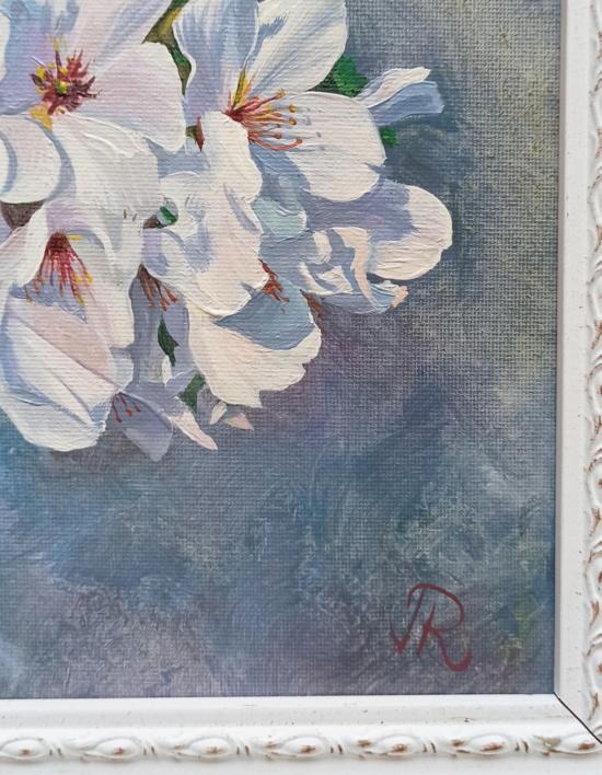 Sakura | Pintura de Javier Ramos Julián | Compra arte en Flecha.es