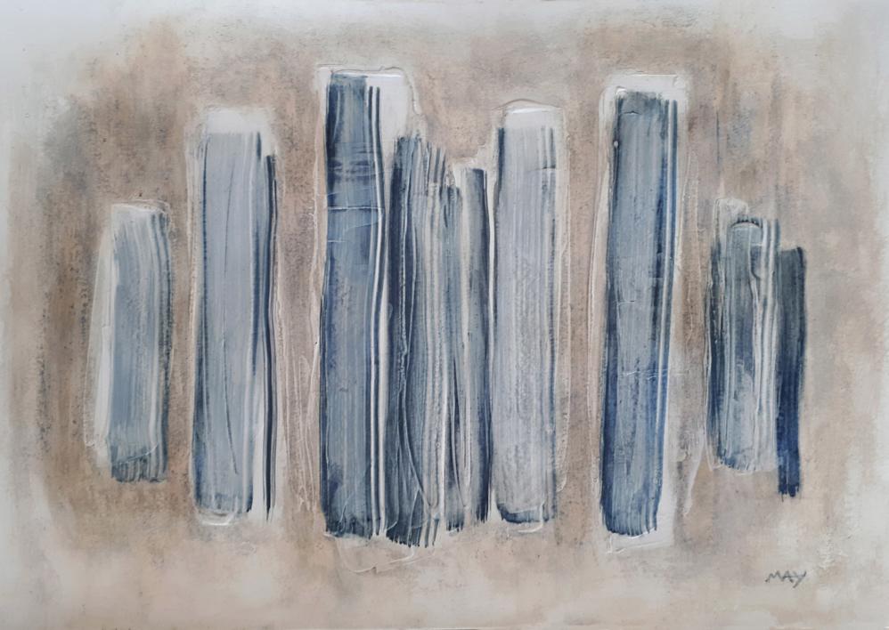 Armonía III |Pintura de May Pérez | Compra arte en Flecha.es