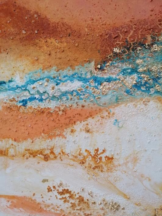 [glaciares] VIII   Pintura de Elisa de la Torre   Compra arte en Flecha.es
