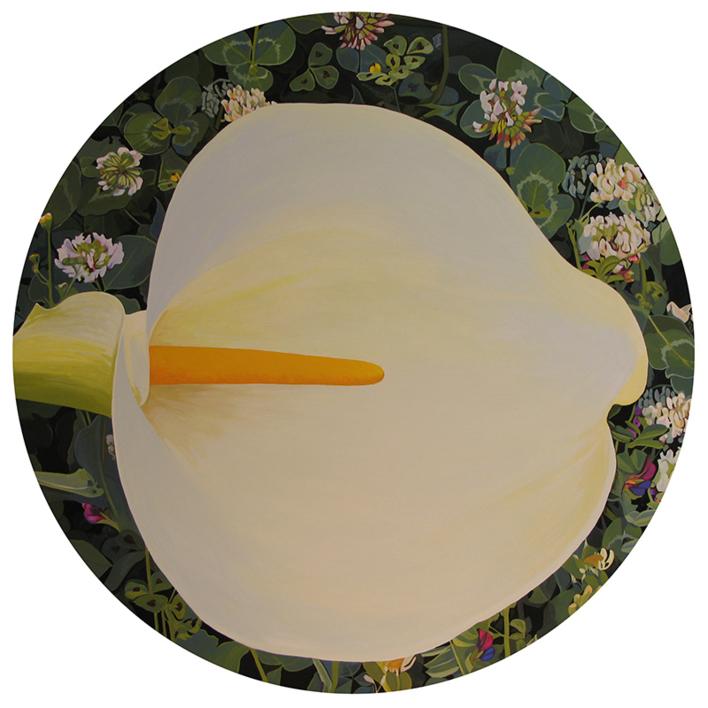 """Cala circular"" |Pintura de Carmen Varela | Compra arte en Flecha.es"
