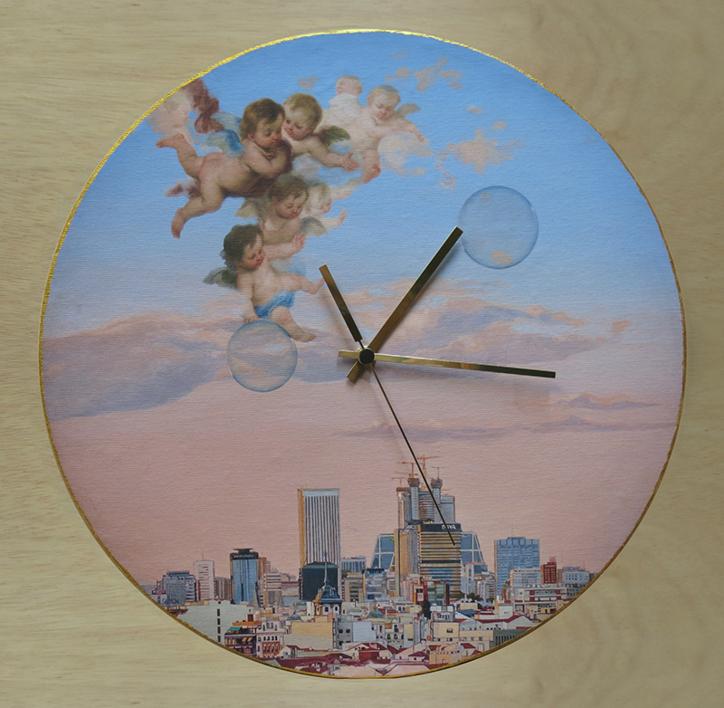 Reloj Murillo y yo |Fotografía de Carmen Varela | Compra arte en Flecha.es
