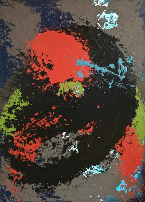 LUZ Y OSCURIDAD |Pintura de ALFREDO MOLERO DOVAL | Compra arte en Flecha.es