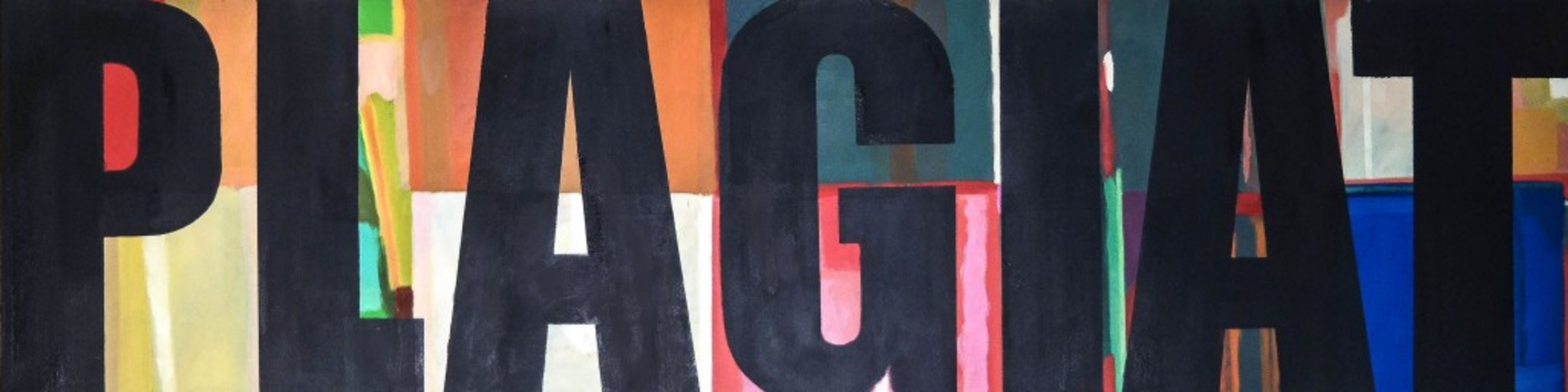 PLAGIAT  Pintura de Dirk Großer   Compra arte en Flecha.es