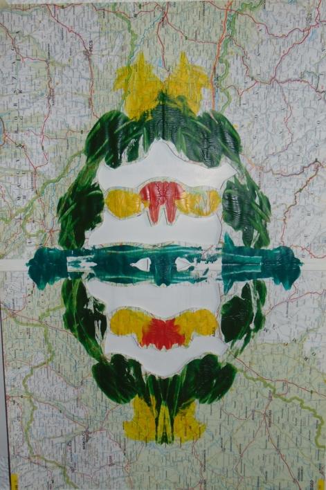 Impronta #7 (Deforestación) | Pintura de Fabiana Zapata | Compra arte en Flecha.es