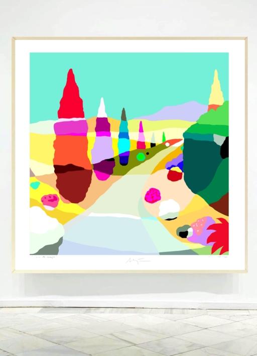 El seto | Digital de ALEJOS | Compra arte en Flecha.es