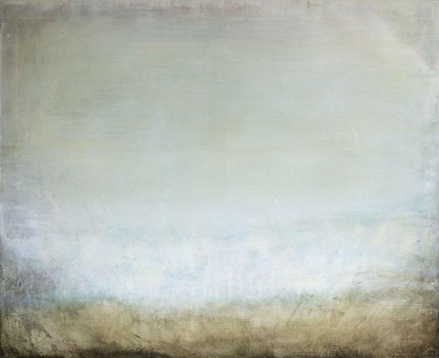 Misty horizon |Pintura de Lucia Garcia Corrales | Compra arte en Flecha.es
