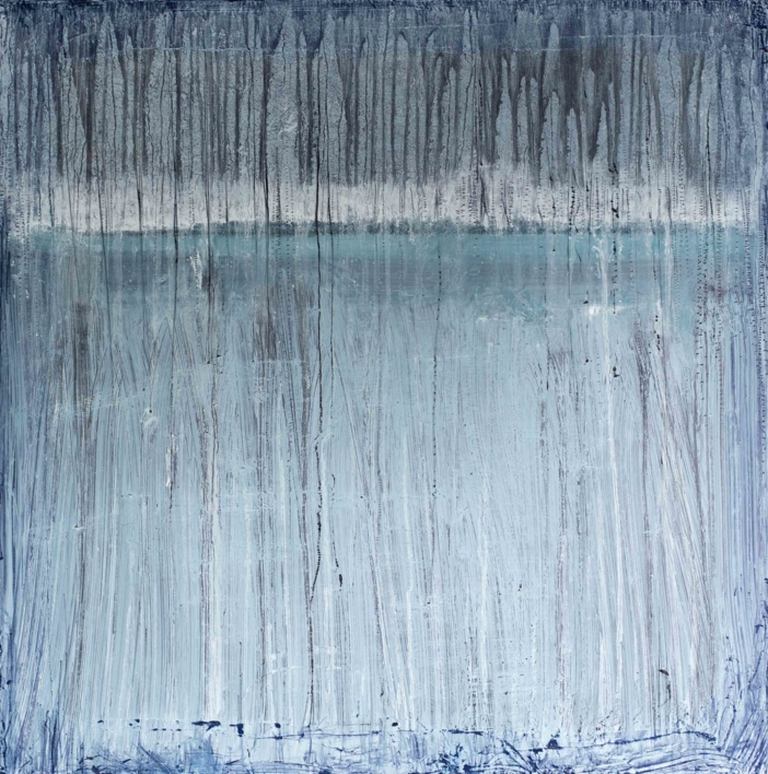 White horizon  Pintura de Lucia Garcia Corrales   Compra arte en Flecha.es