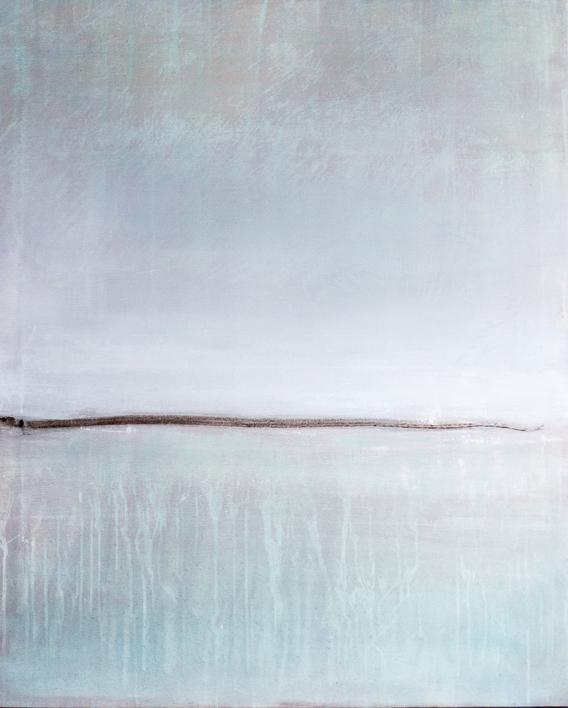 Brown horizon |Pintura de Lucia Garcia Corrales | Compra arte en Flecha.es