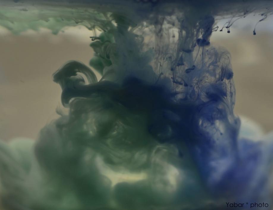 Blue and green |Fotografía de Yabar | Compra arte en Flecha.es