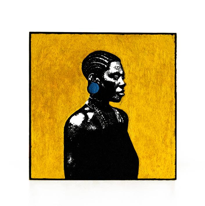Pendiente | Collage de Alicia Calbet | Compra arte en Flecha.es