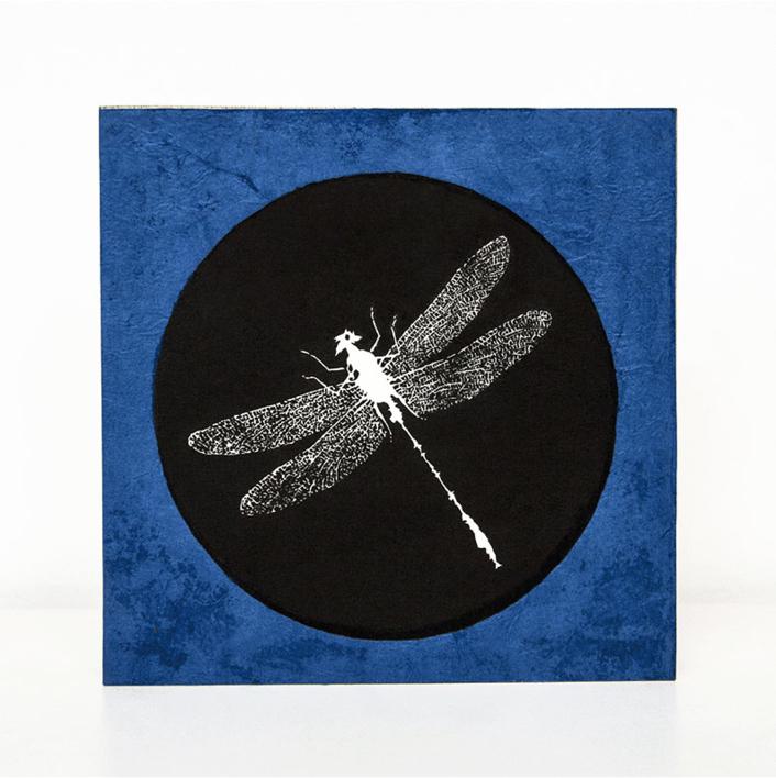 Libélula | Collage de Alicia Calbet | Compra arte en Flecha.es