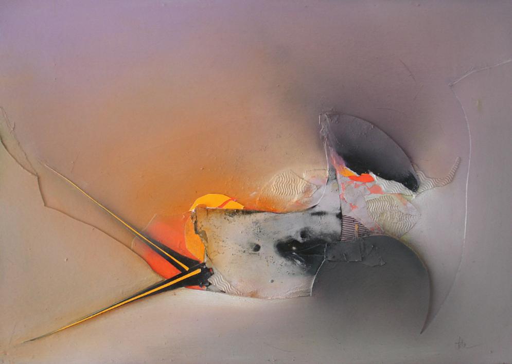 NEBULOSA |Pintura de Raúl Utrilla | Compra arte en Flecha.es
