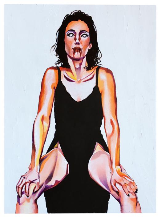 Alison |Ilustración de Vito Thiel | Compra arte en Flecha.es