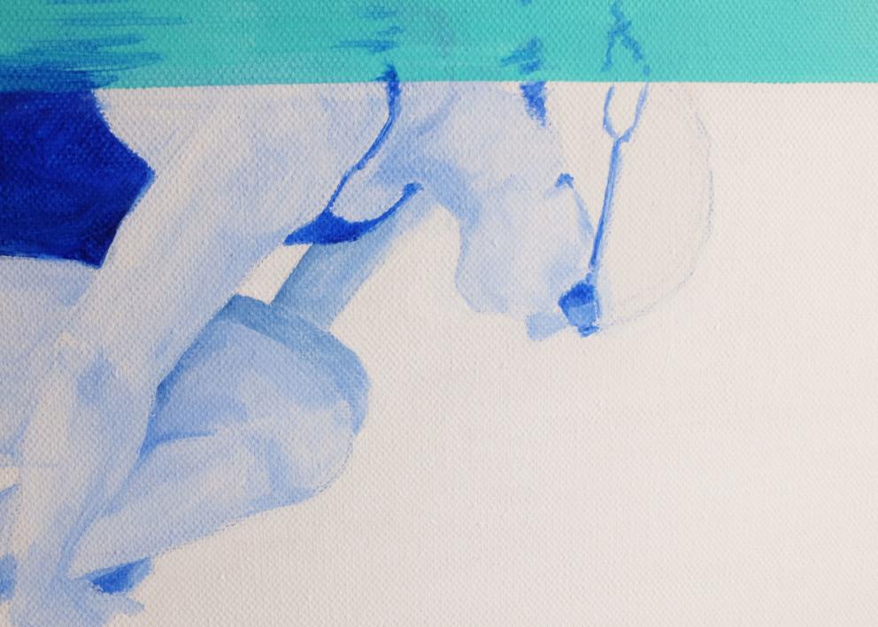Esperando nacer. Green   Pintura de Ana Patitú   Compra arte en Flecha.es