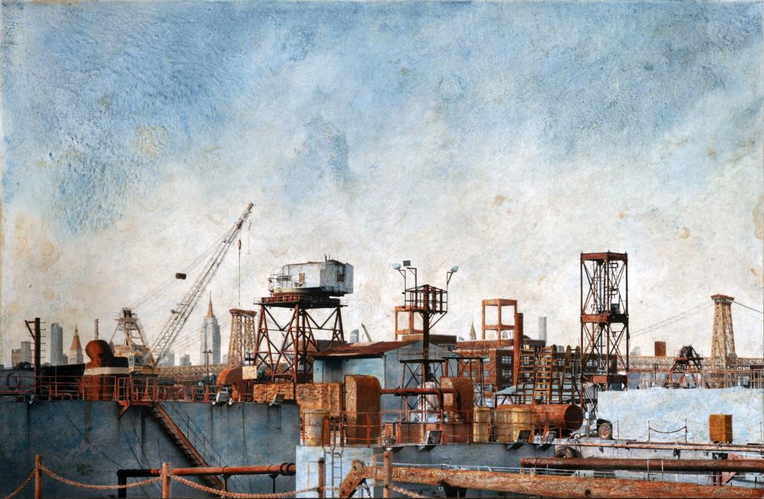 Brooklyn Navy Yard |Fotografía de Carlos Arriaga | Compra arte en Flecha.es
