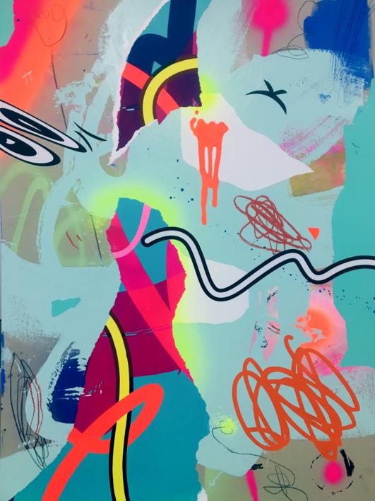 WILD  Pintura de Jose Palacios   Compra arte en Flecha.es